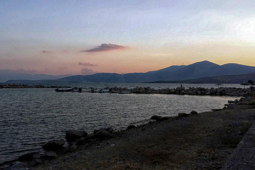 Hafen von Kappa, Griechenland