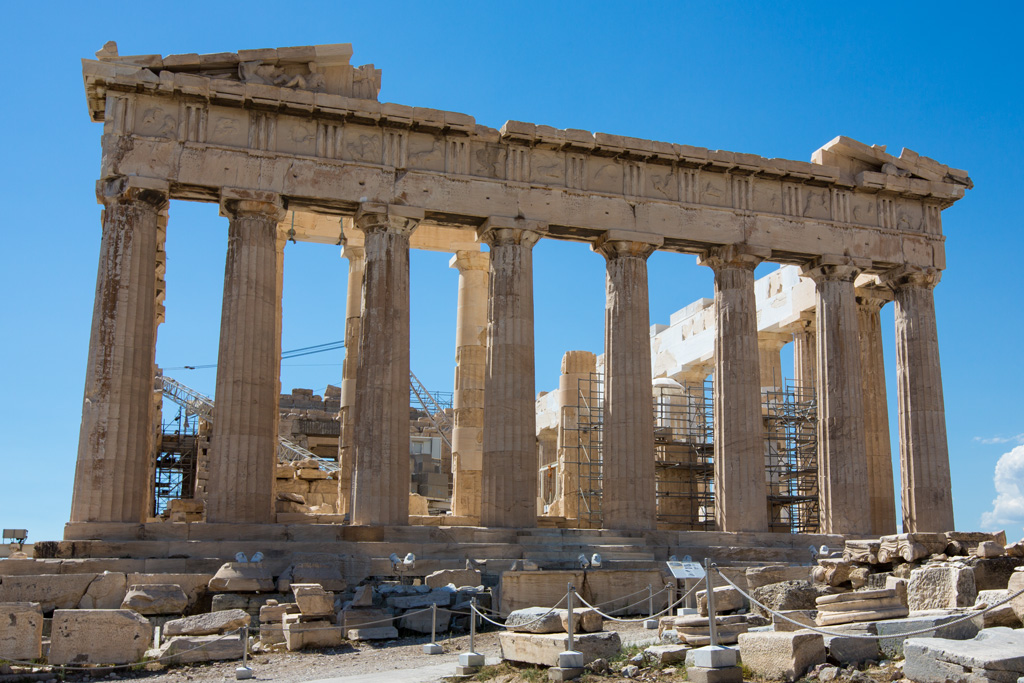 Akropolis - Pantheon