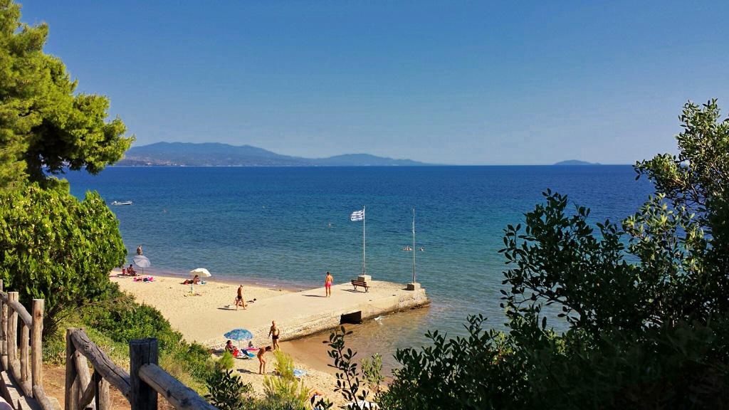 Strand in Metamorfosi; Griechenland