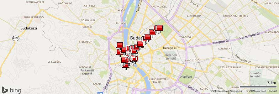 Fotoorte in Budapest